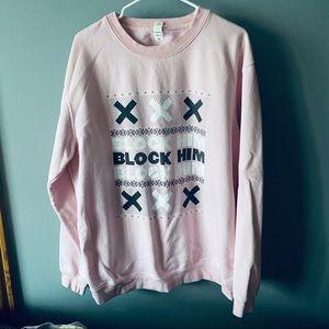 Barstool Sports Call Her Daddy pink sweatshirt